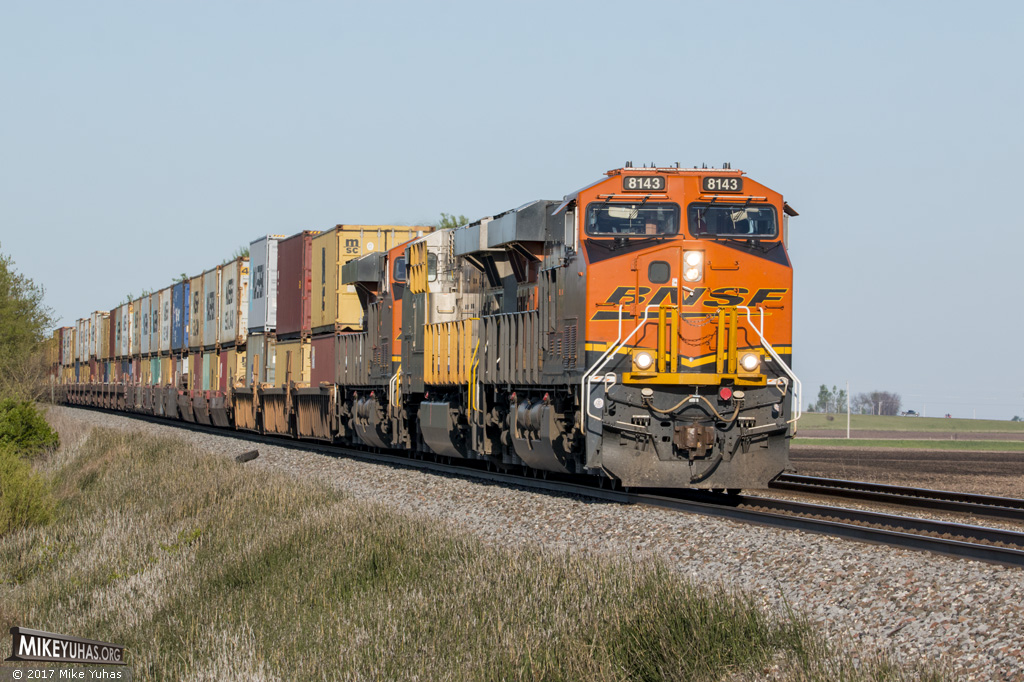 Railroad Photos by Mike Yuhas: Osage Township, Illinois, 5/5